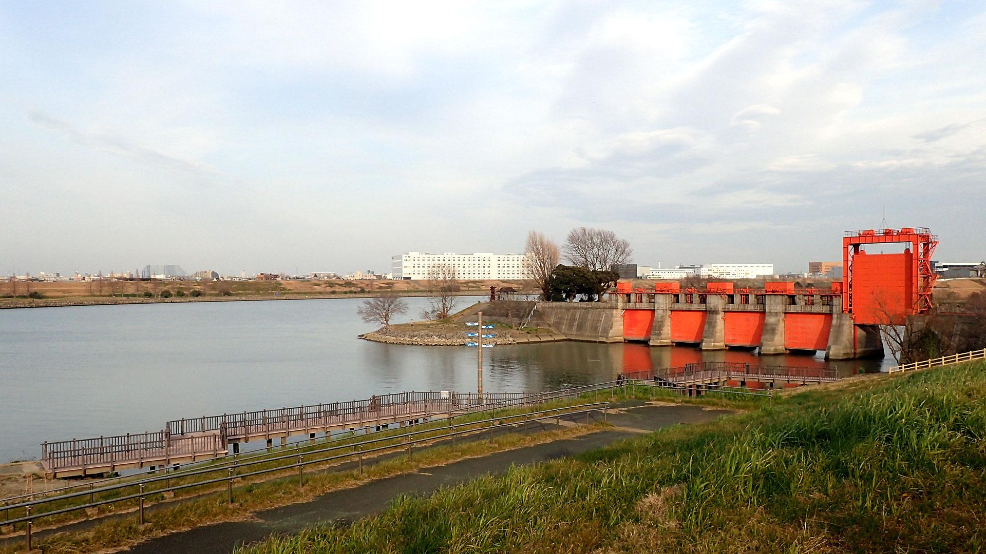 旧岩渕水門
