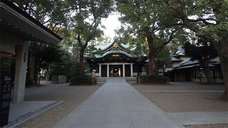 王子神社全景