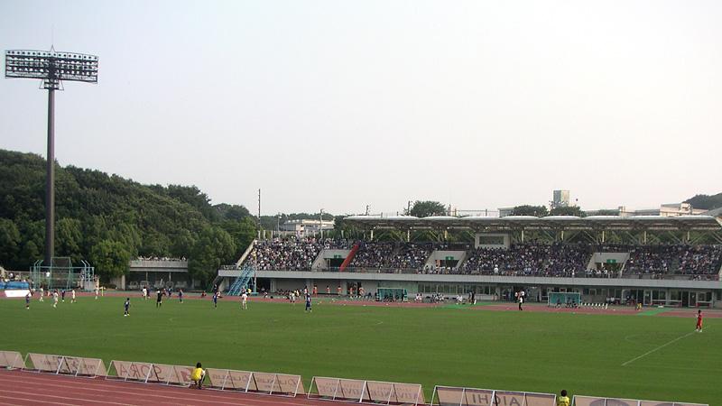 町田GIONスタジアム旧メインスタンド