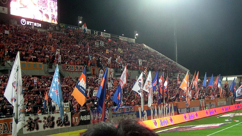 NACK5スタジアムのサイドスタンド