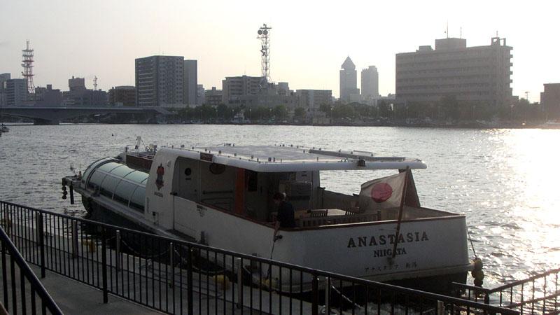 朱鷺メッセ水上バス