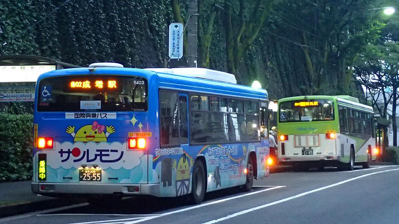 赤02系統成増駅行き