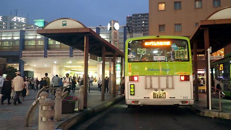 赤羽駅とバスターミナル