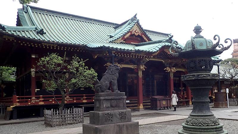 根津神社拝殿
