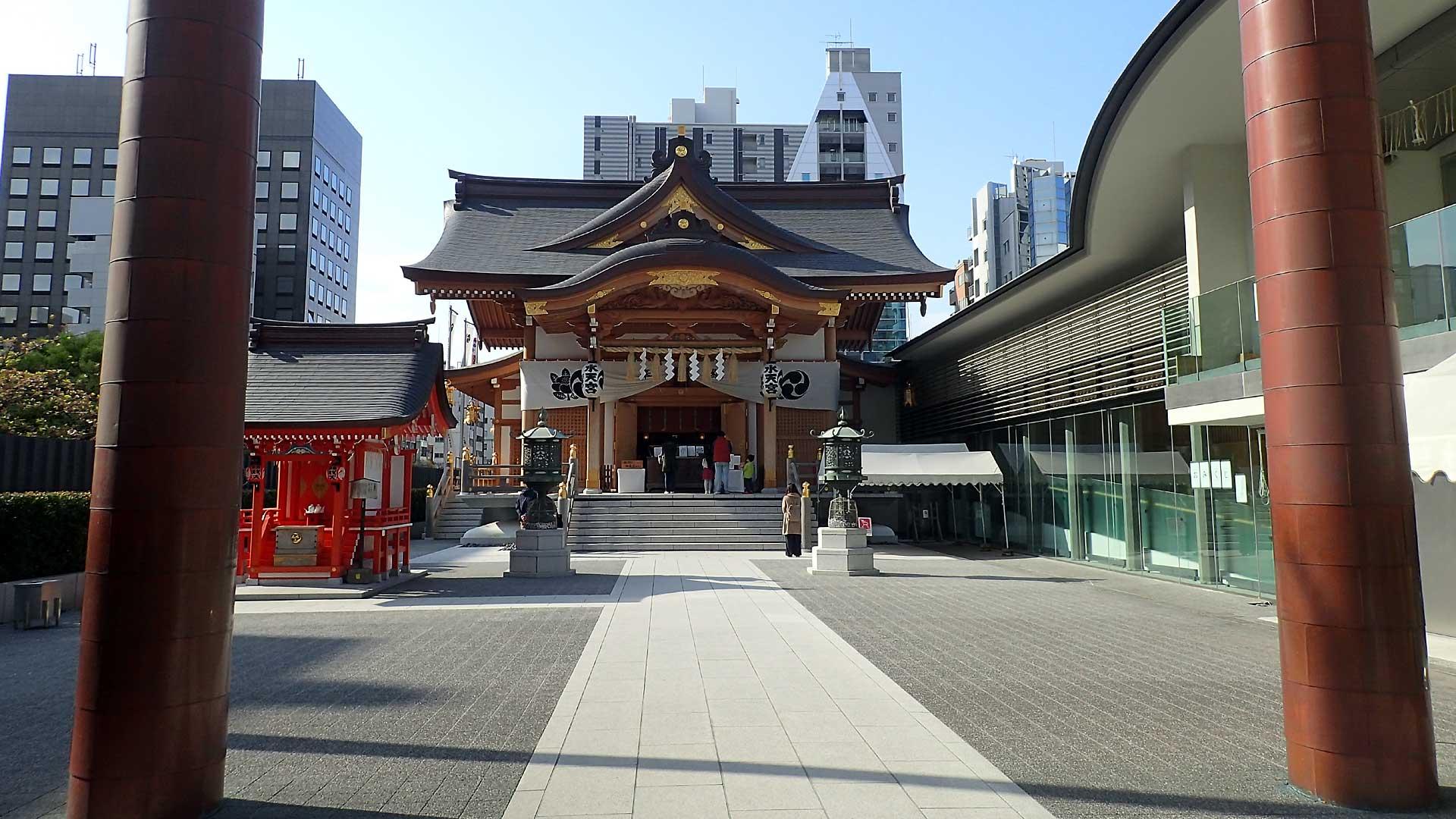 東京水天宮境内