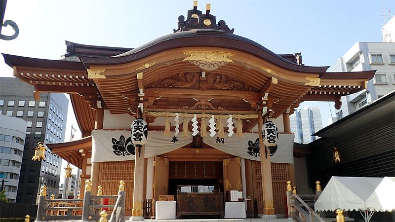 東京水天宮拝殿