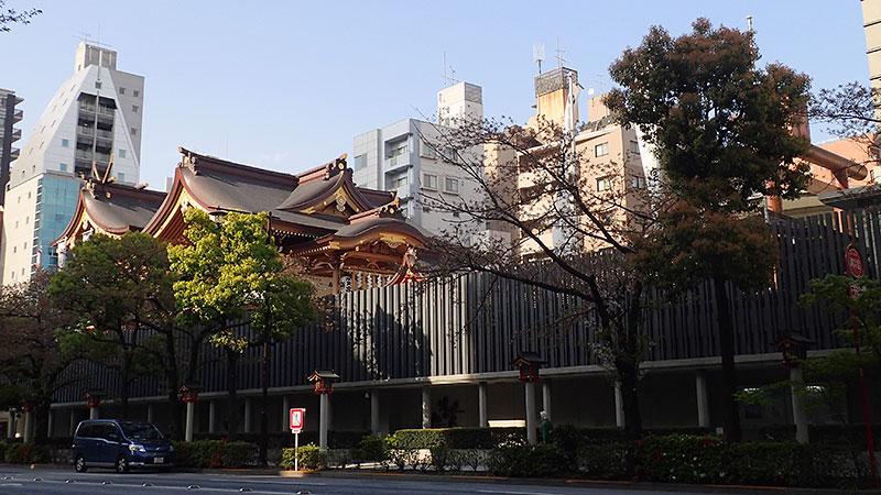東京水天宮景観