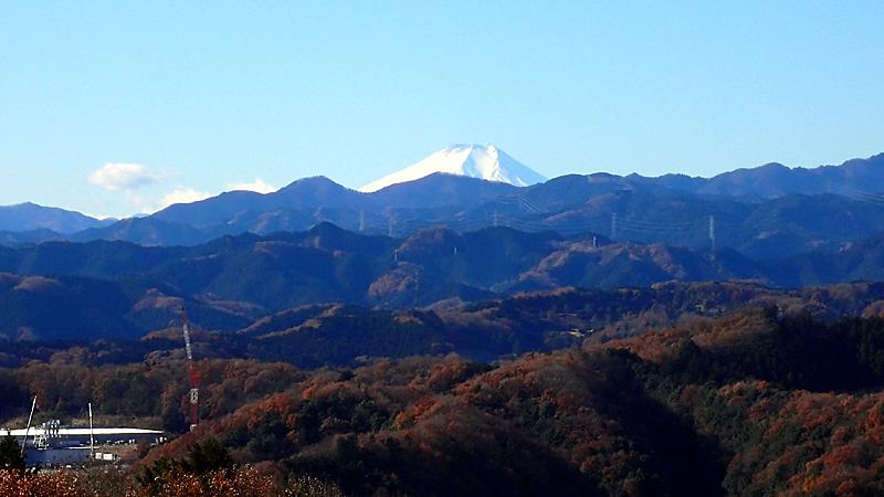 多峯主山から富士山