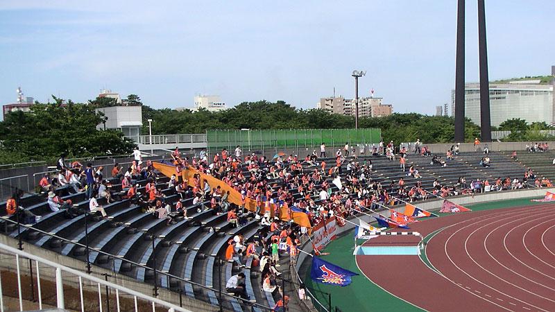 新潟市陸サイドスタンド