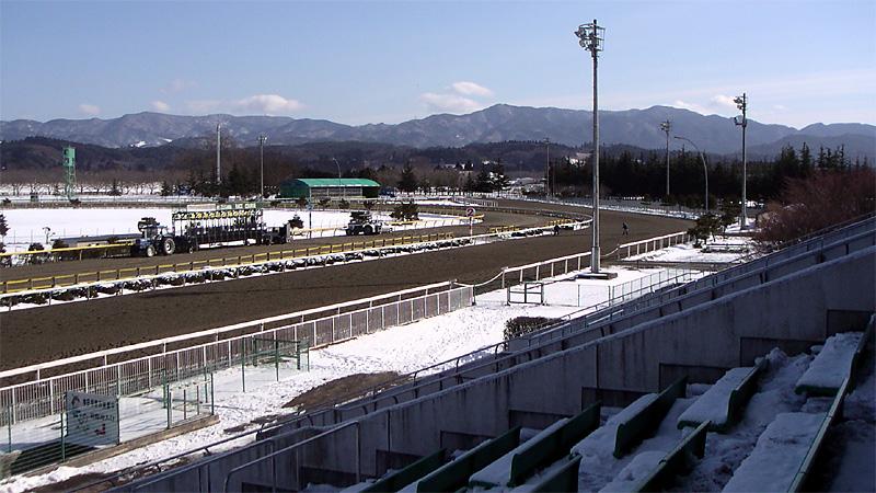 水沢競馬場遠景