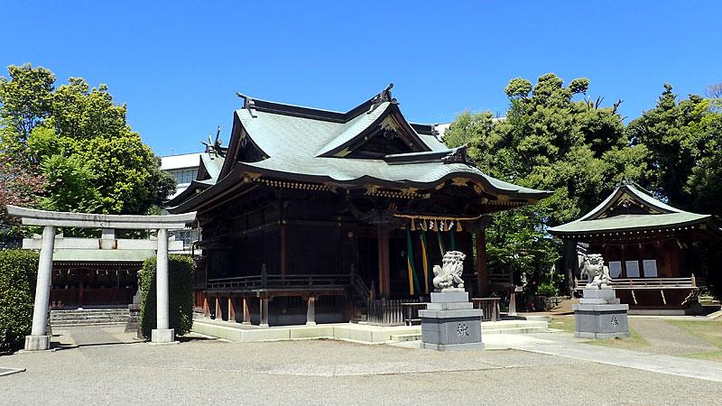 赤羽八幡神社境内