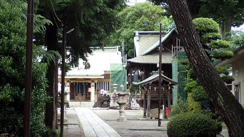 熊野神社(北区)社殿