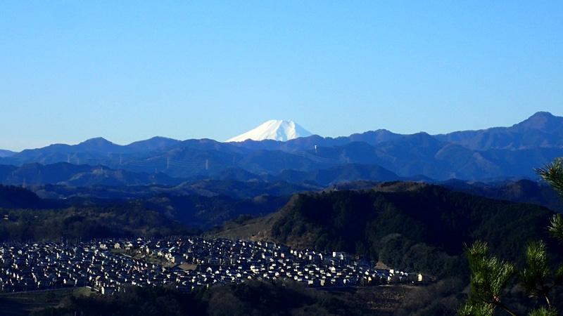 日和田山からの富士山