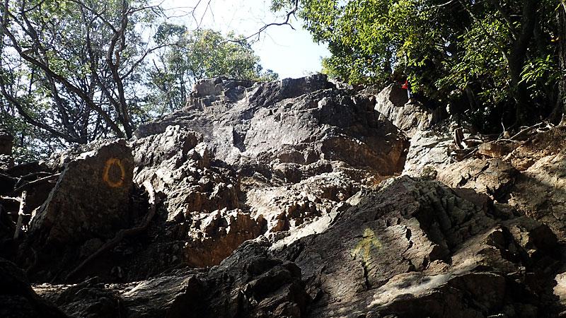 日和田山岩場