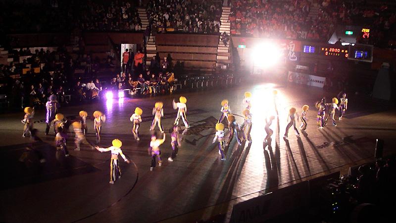 代々木第二体育館東京アパッチハーフタイムショー