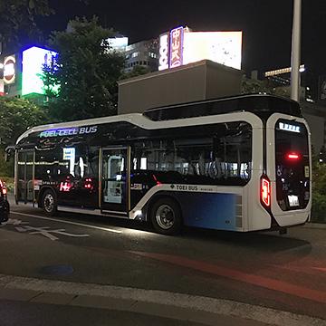 都営バスの燃料電池バス