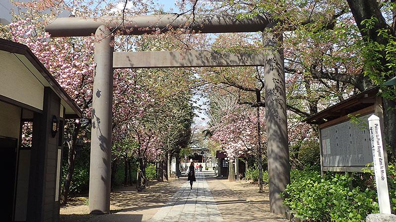 亀戸香取神社参道