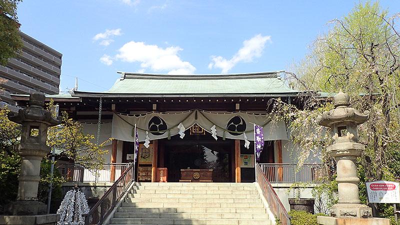亀戸香取神社拝殿