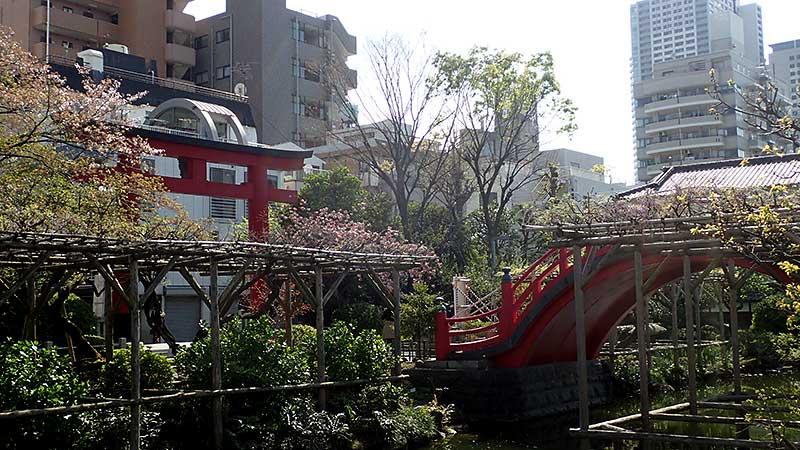 亀戸神社太鼓橋
