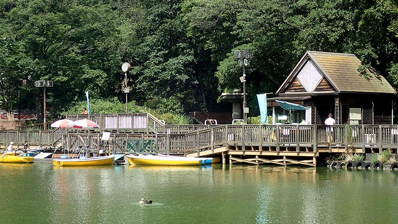 見次公園ボート乗り場