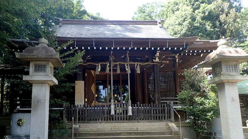 志村熊野神社拝殿