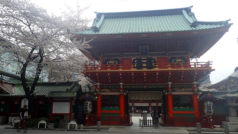 神田神社隨神門
