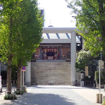芝大神宮入口