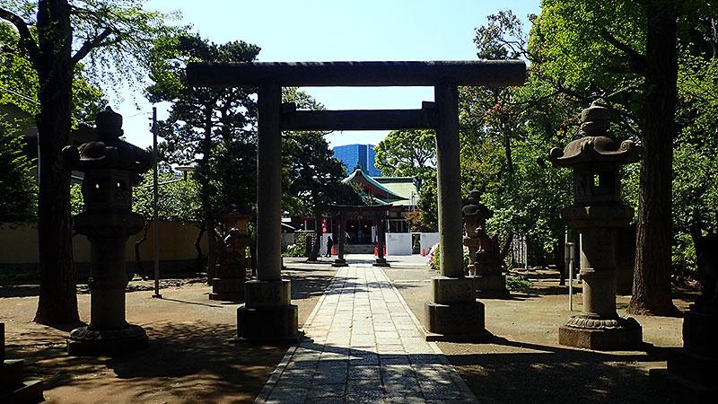 品川神社参道
