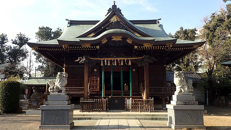 赤羽八幡神社拝殿