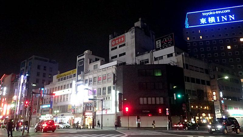 赤羽駅前再開発予定地