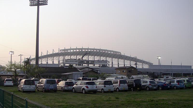 ケーズデンキスタジアム駐車場