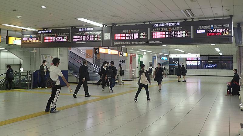 赤羽駅南口改札
