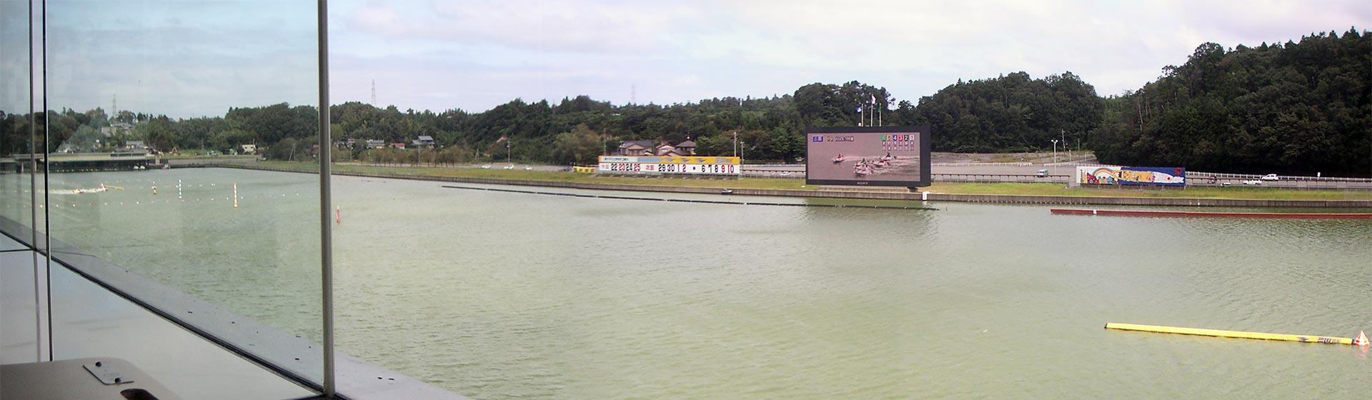 三国競艇場パノラマ