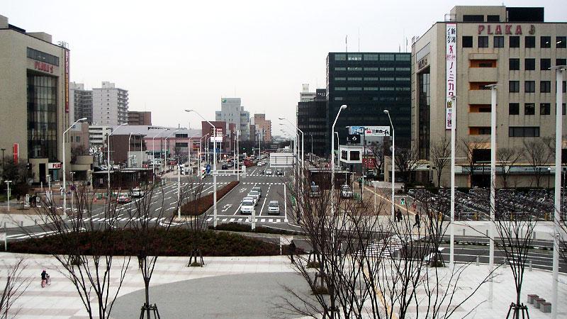 新潟駅南口正面