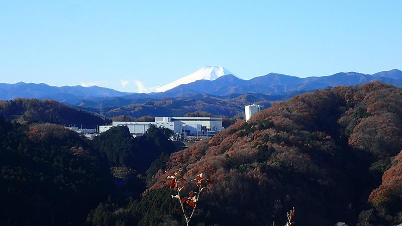 展望台から富士山ビュー