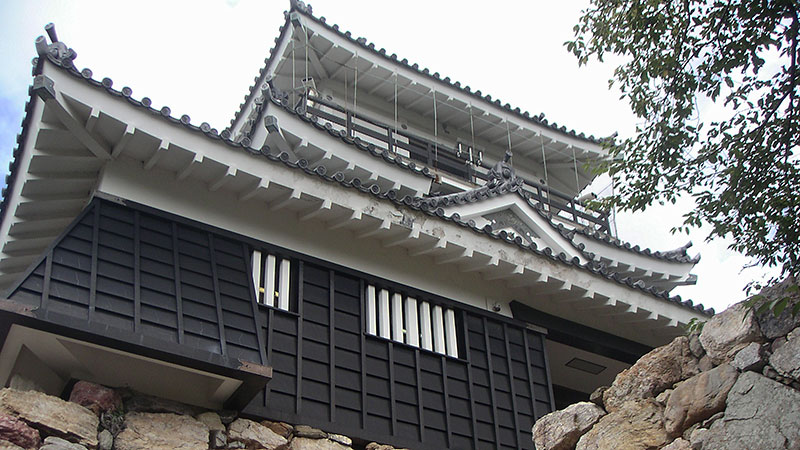 浜松城復元天守