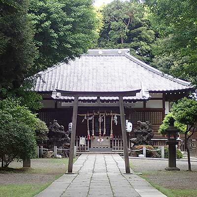 平塚城跡(平塚神社)