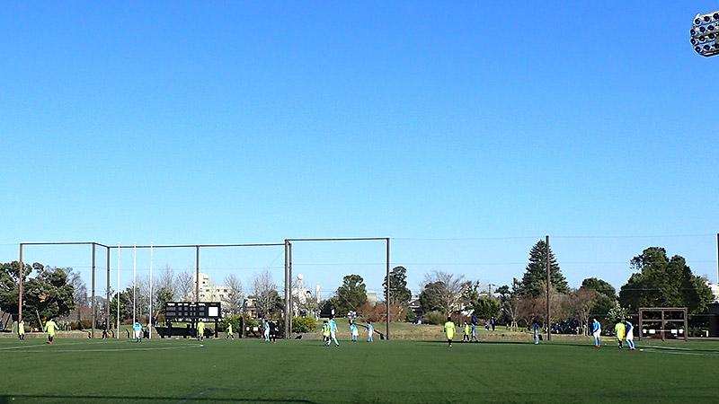 赤羽スポーツの森公園競技場ピッチ