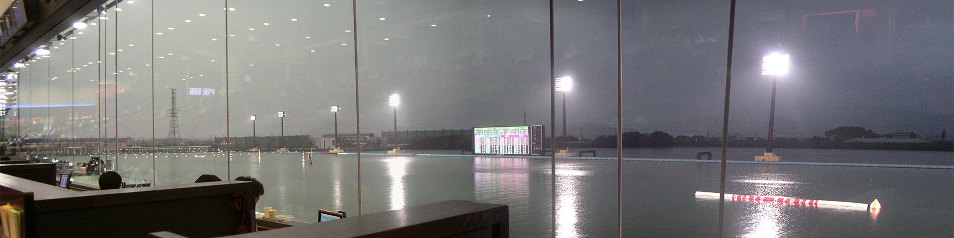 桐生競艇場パノラマ
